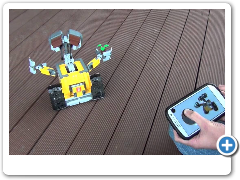 SBrick with LEGO 21303 Wall-E - Smart Brick is the next level in Remote Control